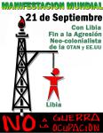 Movilización mundial 21 de septiembre: EEUU/OTAN Manos Fuera de Libia! Manos Fuera de África!